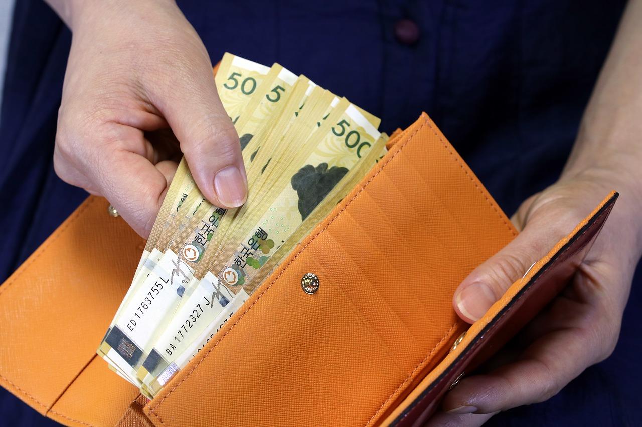Een portefeuille voor de aandelen